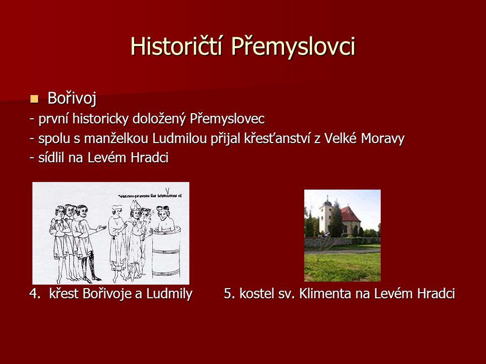 Historičtí Přemyslovci