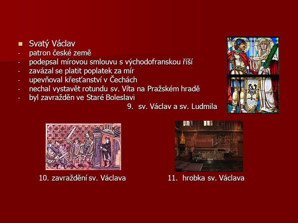 Svatý Václav patron české země