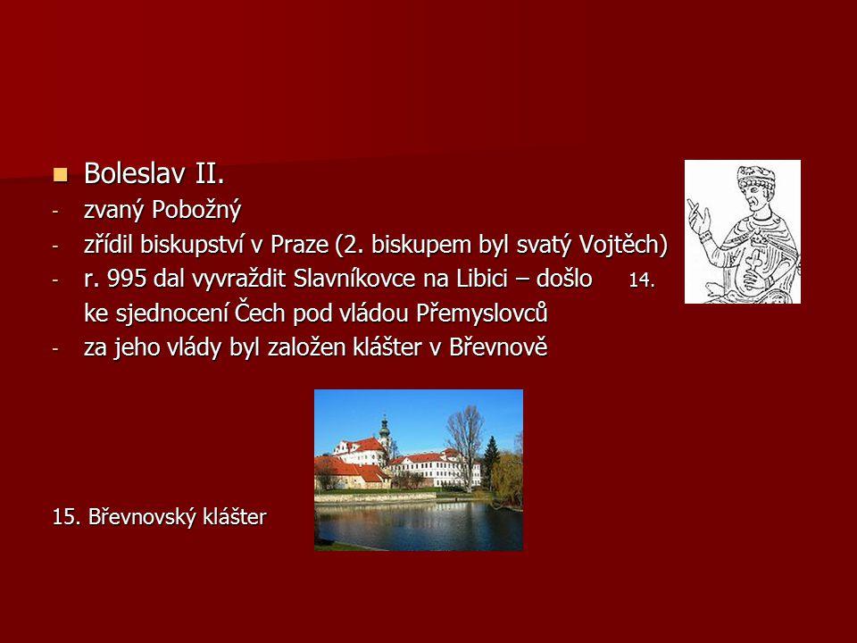 Boleslav II. zvaný Pobožný