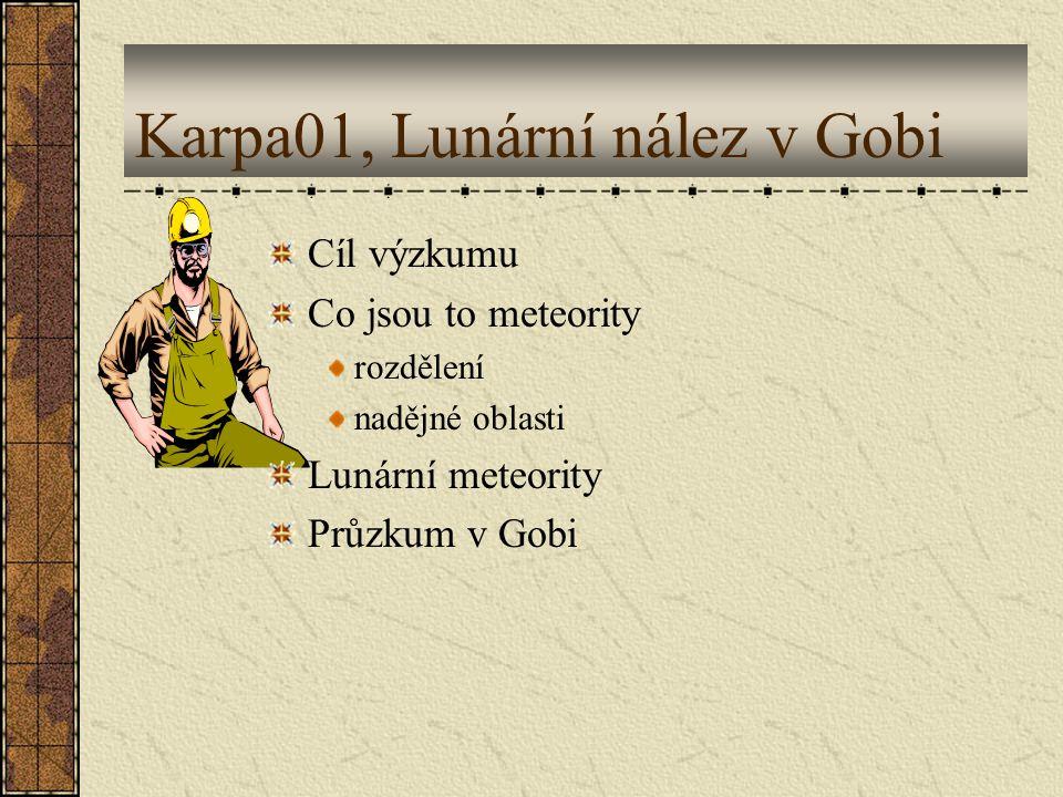 Karpa01, Lunární nález v Gobi