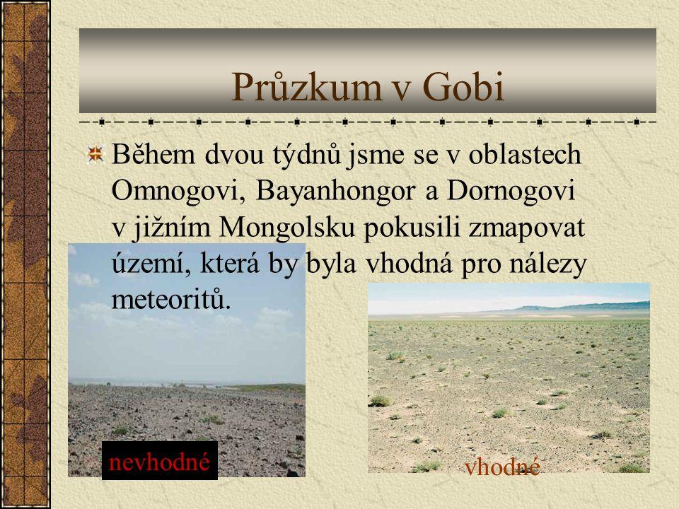Průzkum v Gobi