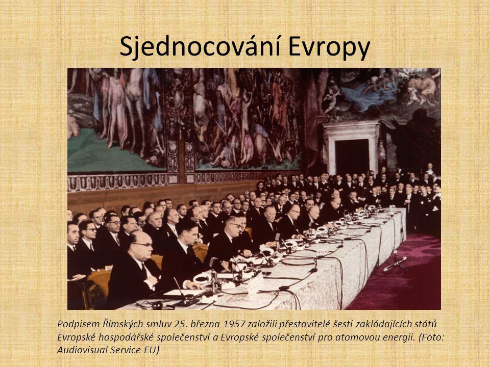 Sjednocování Evropy