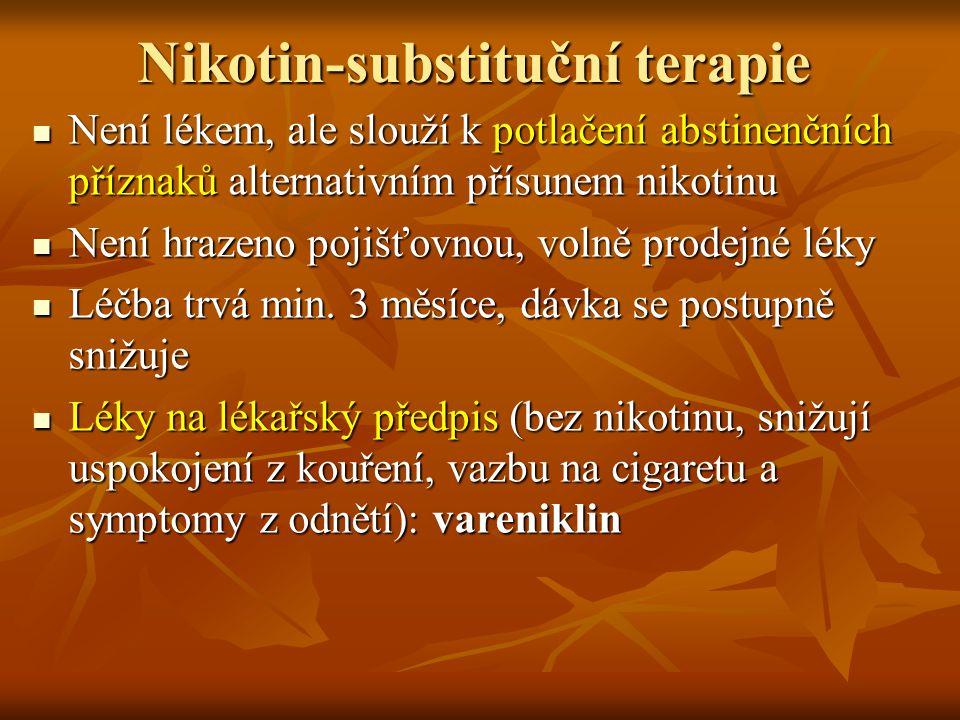 Nikotin-substituční terapie