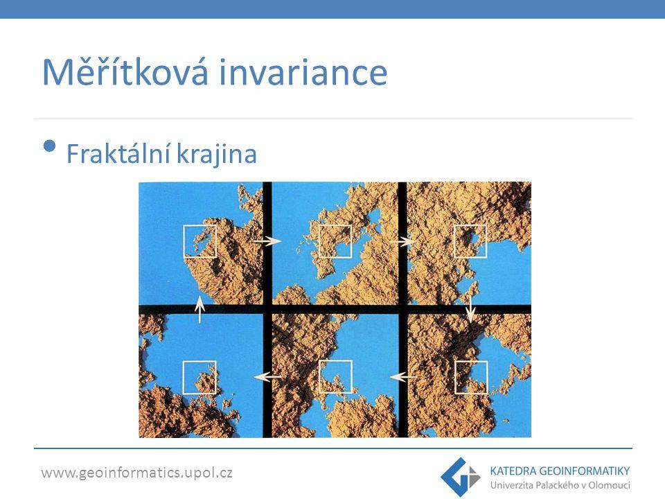 Měřítková invariance Fraktální krajina