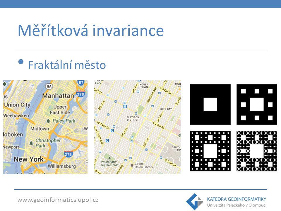 Měřítková invariance Fraktální město