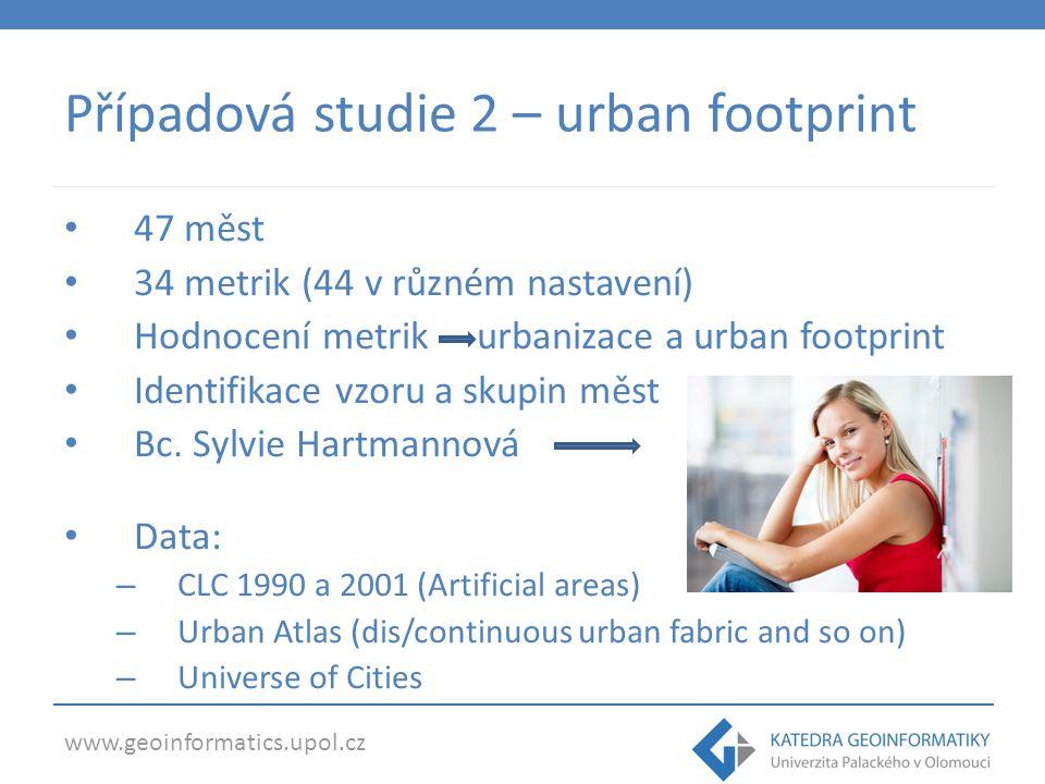 Případová studie 2 – urban footprint