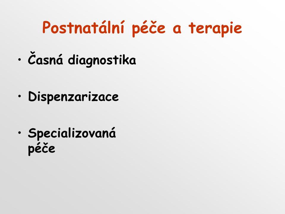 Postnatální péče a terapie