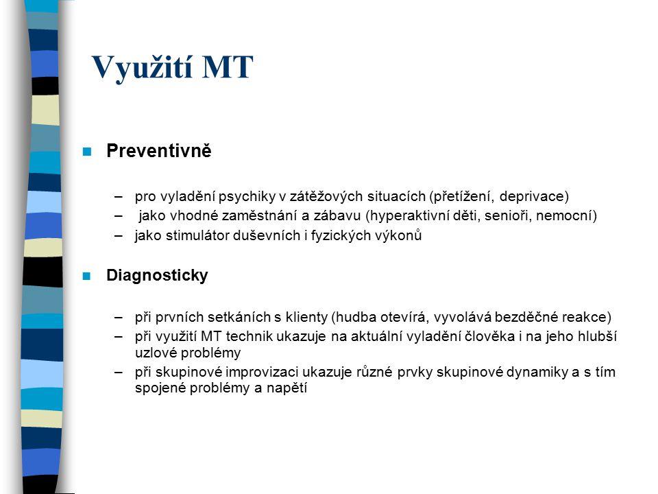 Využití MT Preventivně Diagnosticky