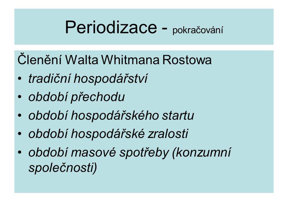 Periodizace - pokračování