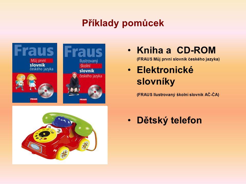 Elektronické slovníky (FRAUS Ilustrovaný školní slovník AČ-ČA)