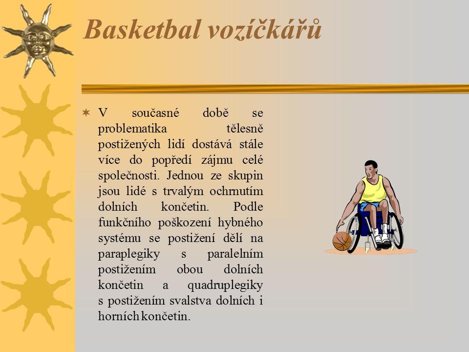 Basketbal vozíčkářů