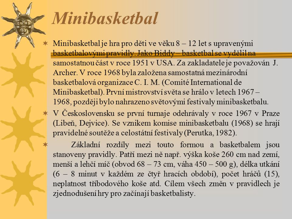 Minibasketbal