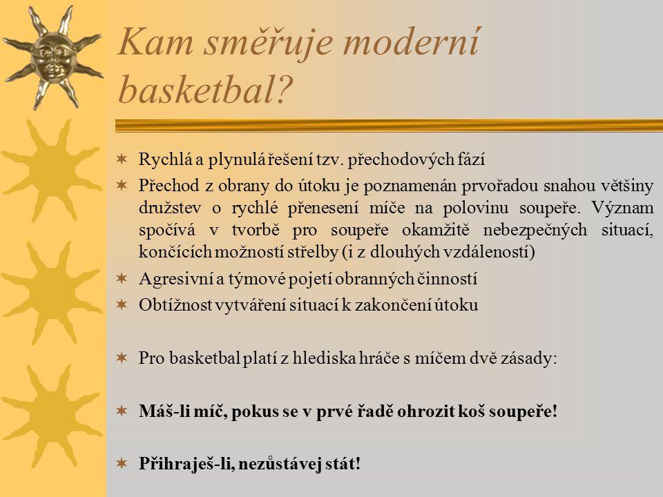 Kam směřuje moderní basketbal