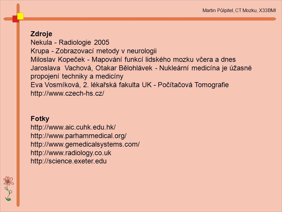 Krupa - Zobrazovací metody v neurologii