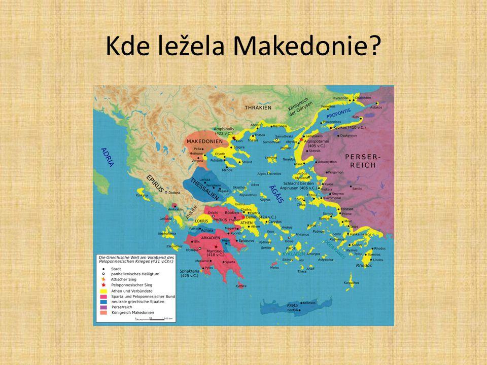 Kde ležela Makedonie