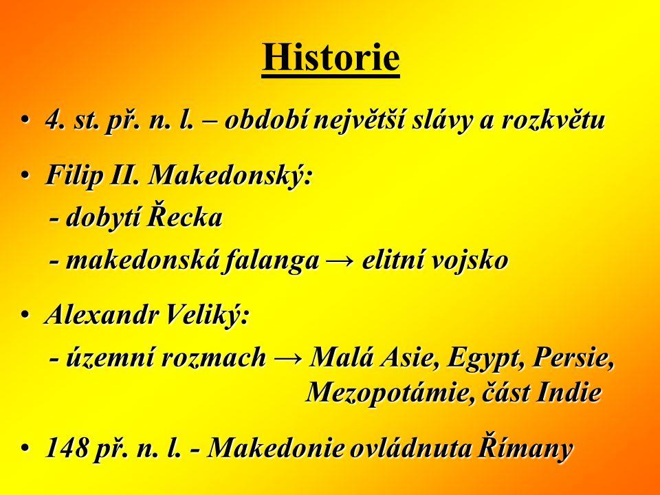 Historie 4. st. př. n. l. – období největší slávy a rozkvětu