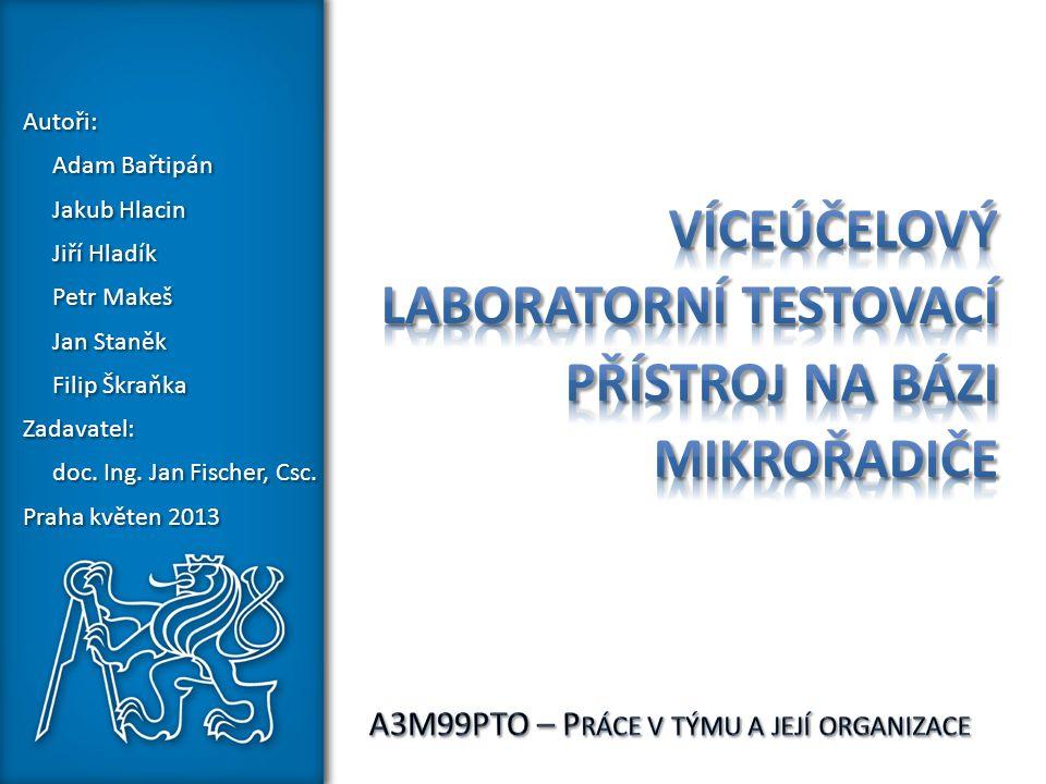 Víceúčelový laboratorní testovací přístroj na bázi mikrořadiče