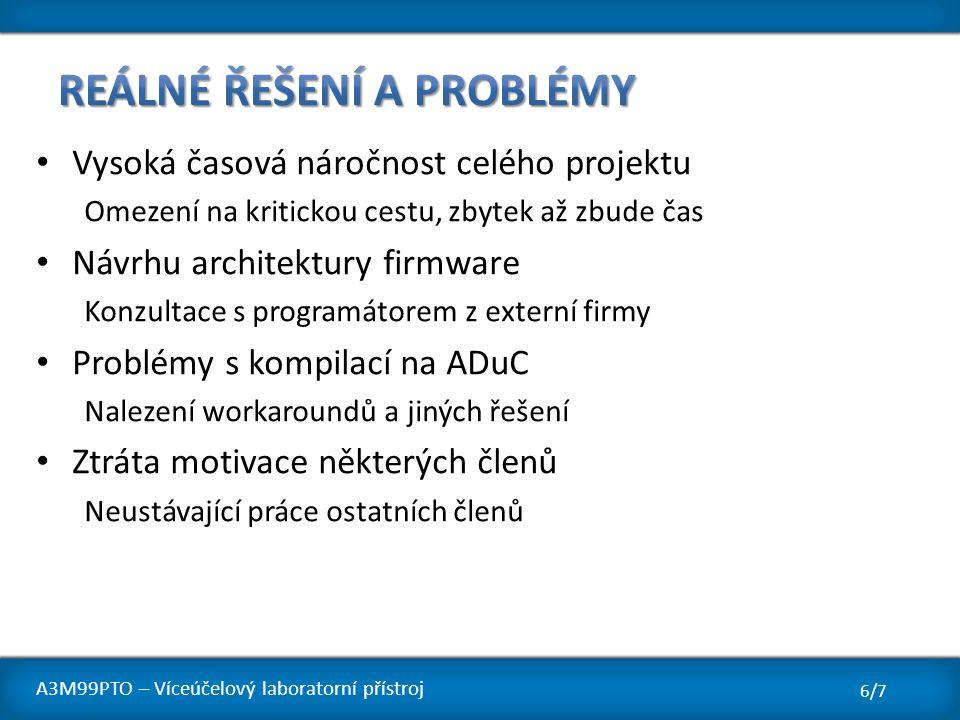 Reálné řešení a problémy