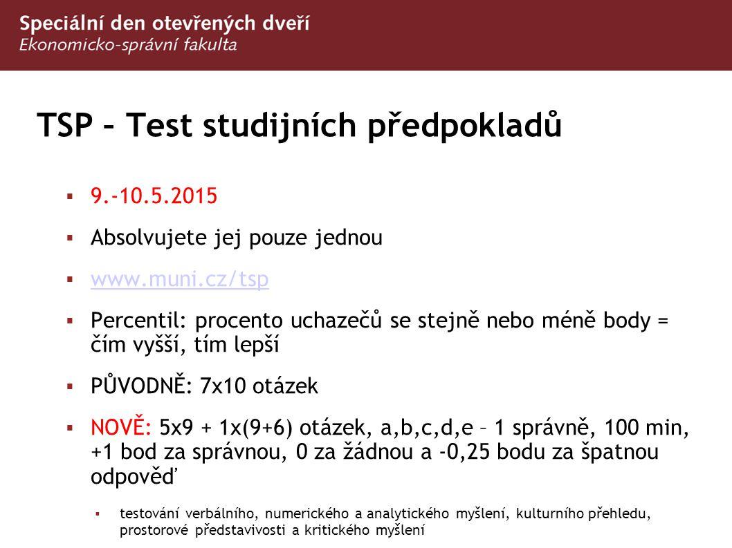 TSP – Test studijních předpokladů