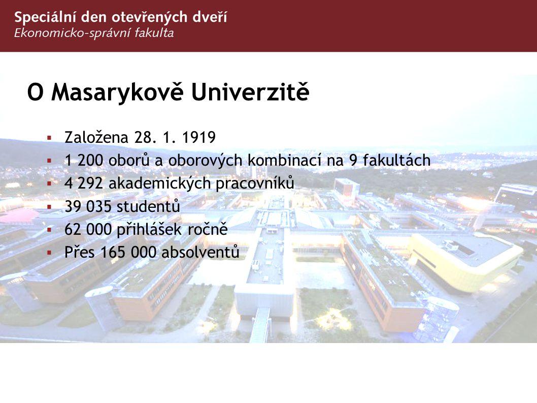 O Masarykově Univerzitě