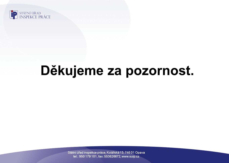 Státní úřad inspekce práce, Kolářská 13, 746 01 Opava