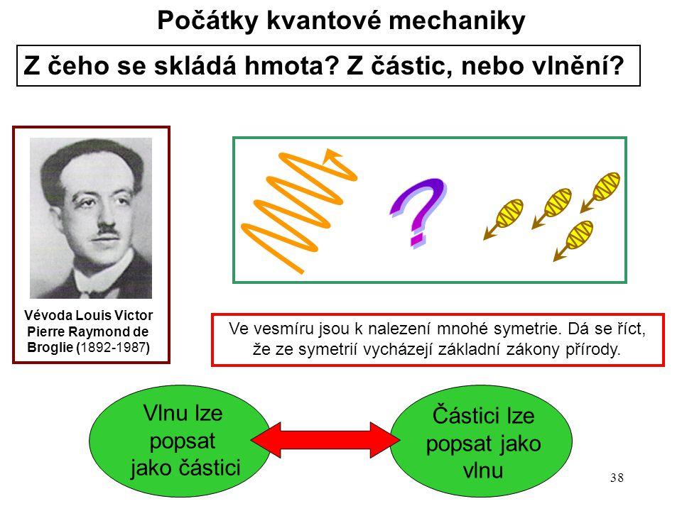 Počátky kvantové mechaniky