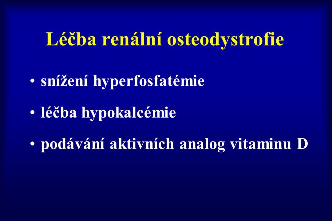 Léčba renální osteodystrofie