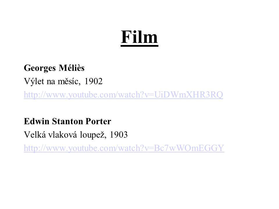 Film Georges Méliès Výlet na měsíc, 1902