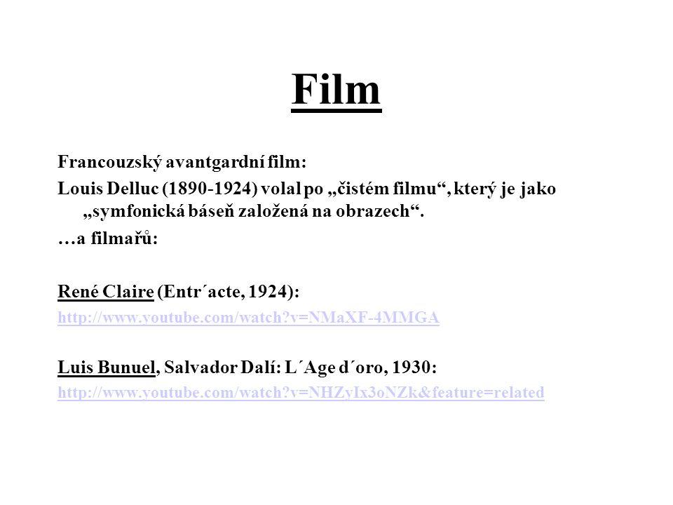 Film Francouzský avantgardní film: