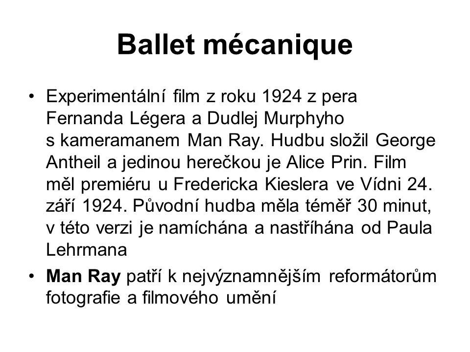 Ballet mécanique