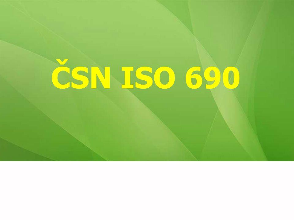 ČSN ISO 690 11