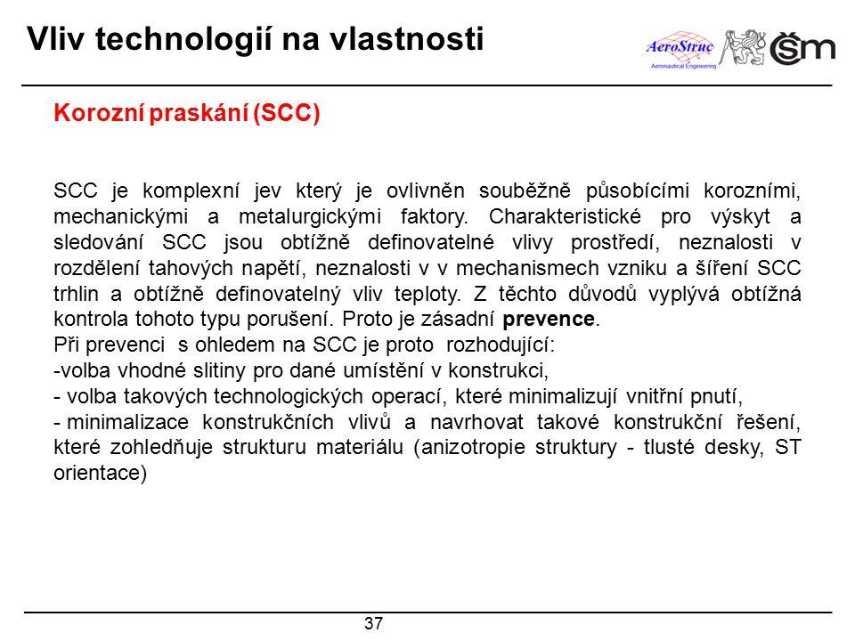 Vliv technologií na vlastnosti