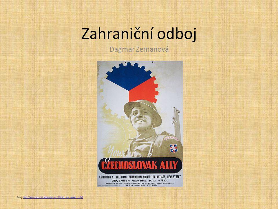 Zahraniční odboj Dagmar Zemanová