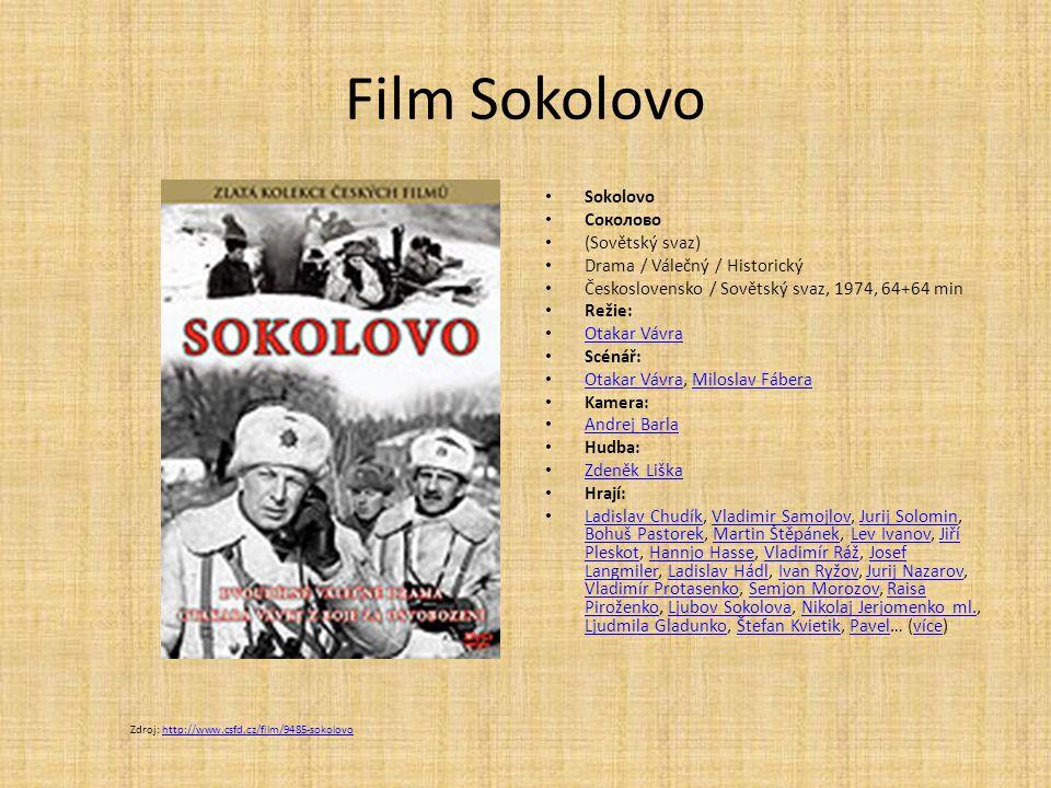 Film Sokolovo Sokolovo Соколово (Sovětský svaz)