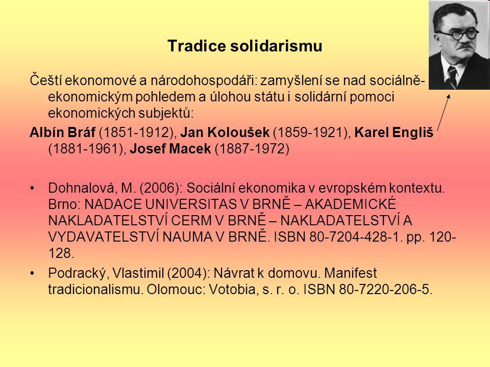 Tradice solidarismu