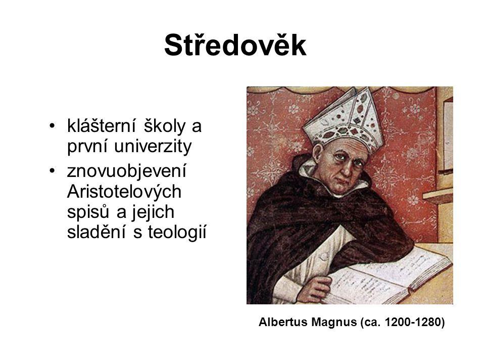 Středověk klášterní školy a první univerzity