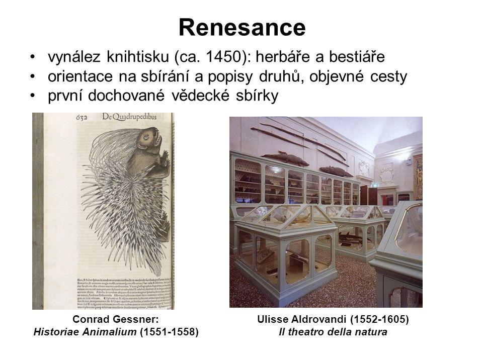 Historiae Animalium (1551-1558) Il theatro della natura