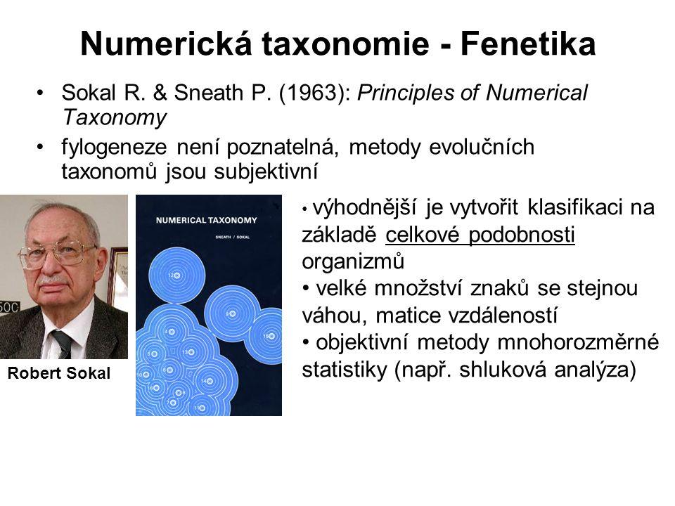 Numerická taxonomie - Fenetika