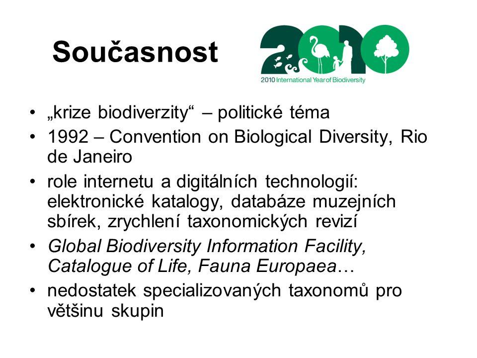 """Současnost """"krize biodiverzity – politické téma"""