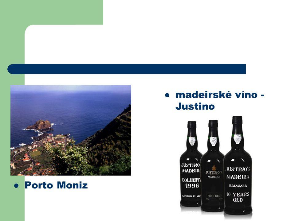 madeirské víno - Justino