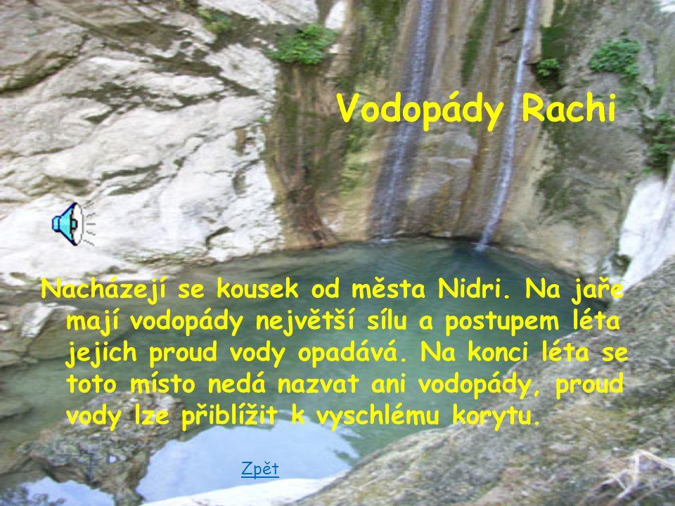Vodopády Rachi