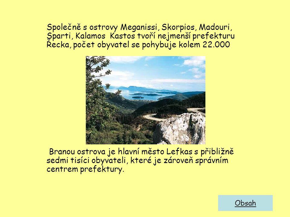 Společně s ostrovy Meganissi, Skorpios, Madouri, Sparti, Kalamos Kastos tvoří nejmenší prefekturu Řecka, počet obyvatel se pohybuje kolem 22.000