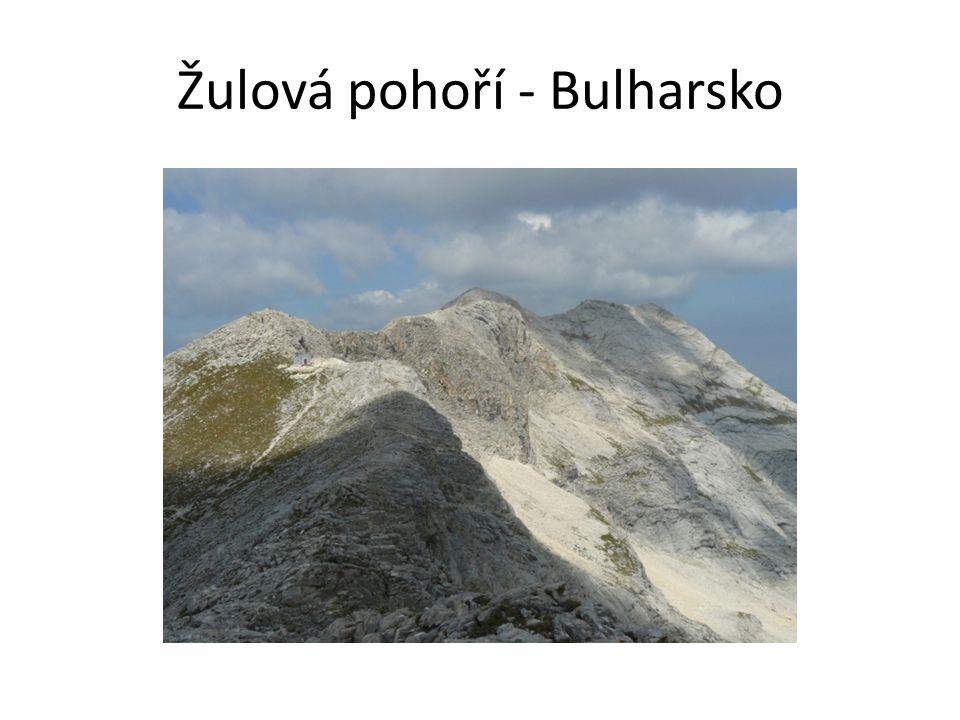 Žulová pohoří - Bulharsko