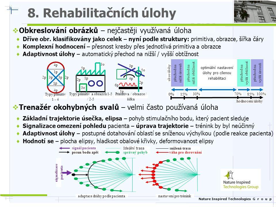 8. Rehabilitačních úlohy