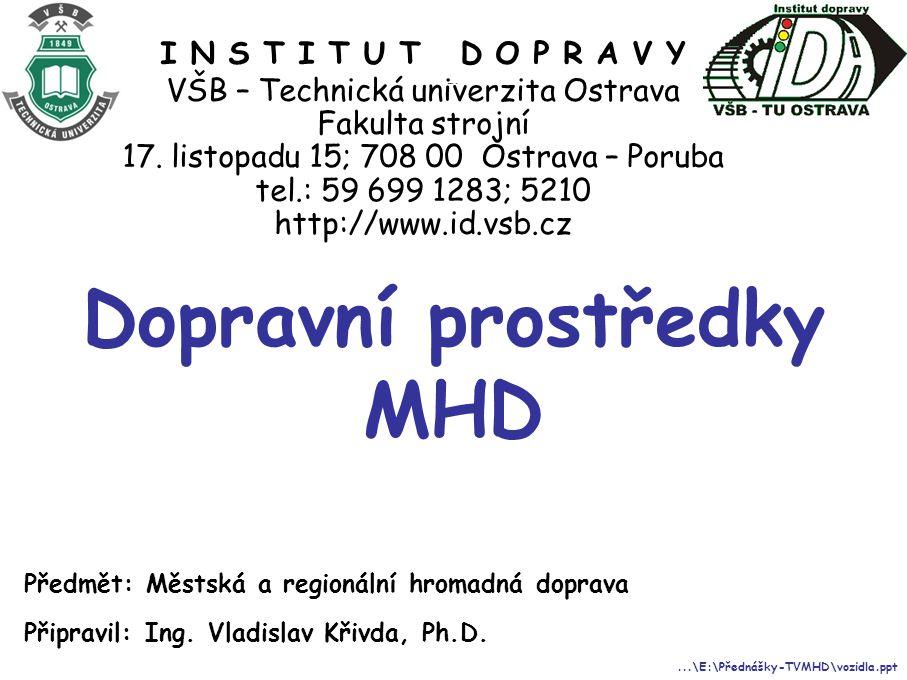 Dopravní prostředky MHD