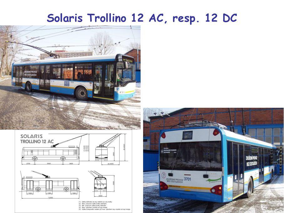 Solaris Trollino 12 AC, resp. 12 DC