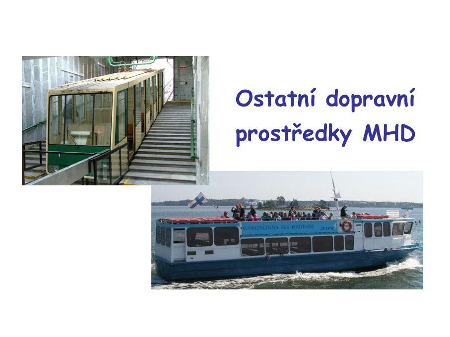 Ostatní dopravní prostředky MHD