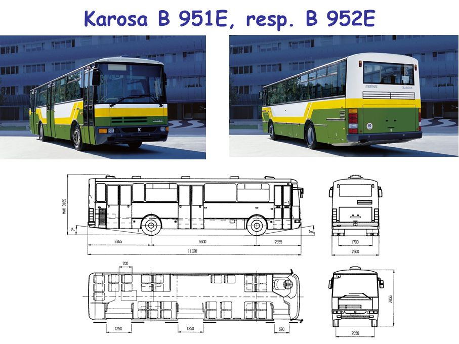 Karosa B 951E, resp. B 952E