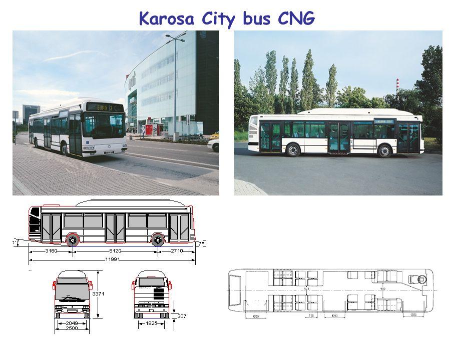 Karosa City bus CNG