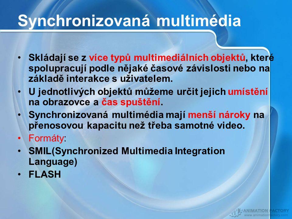 Synchronizovaná multimédia